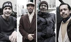 Underheard in New York gave four homeless people a prepaid cell phone, a month of unlimited text messaging and a Twitter account.