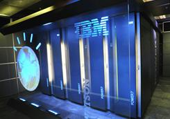 "IBM hopes to move the ""Deep Question"" technology behind its Watson supercomputer into medicine, finance and law."