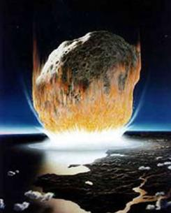 One possible cause of the largest extinction event in the history of life on Earth was a meteor that crashed off the coast of Australia about 251 million years ago. Scientists in 2004 found evidence of an impact crater there, believed to be from a meteor strike.