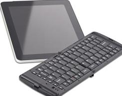 This wireless keyboard from Verbatim is designed to work with the iPad and iPhone. It can handle typing as well as iTunes music commands.