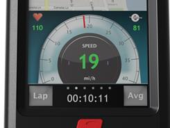Turn your biking adventures into fitness training with the iBike Dash Cycling Computer from Velocomp.