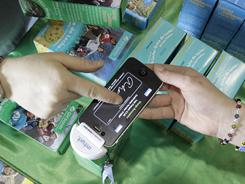 Girl Scout cookie season is now a high-tech affair: Troops in Ohio are the first in the nation to start using GoPayment, a machine that attaches to smartphones to accept credit card payment.