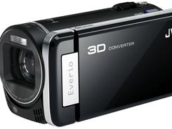 JVC's GZ-HM960 high-definition Everio camcorder.