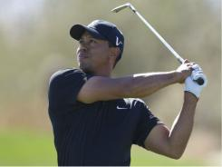 Tiger Woods in the Accenture Match Play Championship in Marana, Ariz., earlier this year.