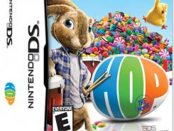 """Hop: The Movie Game"" for Nintendo DS ties into a movie targeted to children ages 5 and older, but is a shooter game far more violent than the movie."