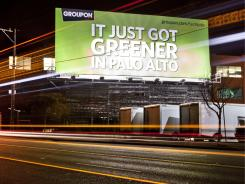 A Groupon recruiting billboard in San Francisco.