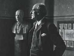 Eugenicist Karl Pearson in 1903.