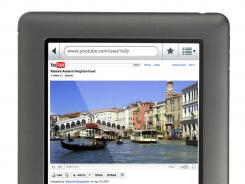 Barnes & Noble is adding an applications store and an email program to its Nook e-reader.