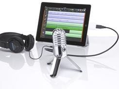 Samson Tech's Meteor Mic is up to the task. Designed for home studios, the USB studio microphone can record CD-quality music on your computer.