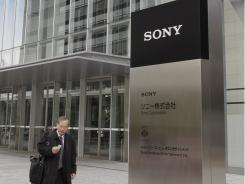 Sony headquarters in Tokyo.