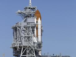 Endeavour on Pad 39A in Cape Canaveral, Fla.