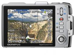 The Olympus TG-810 GPS Enabled Digital Camera.