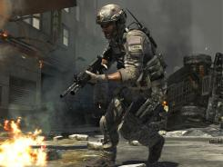 A scene from the latest game in the &quot;Call of Duty&quot; franchise.