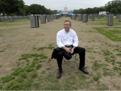 Turf expert Murray Cook, who has designed baseball fields all over the world, is taking on a new challenge: restoring the National Mall.