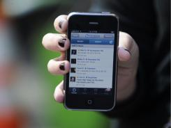 Personal mobile devices could prove a security risk  in the workplace.