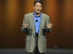 Kazuo Hirai, president and chief executive of Sony Computer Entertainment America.