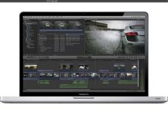 An image of Final Cut Pro for Macs.