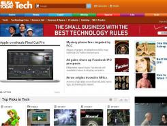 The new USATODAY.com Tech section.