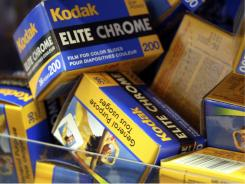 In this 2005 file photo, Kodak film is shown at B&H  Photo in New York.