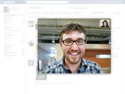 The new video calling feature inside Facebook lets you see and be seen.