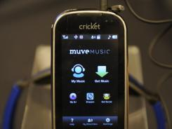 With Cricket's Muve Music service, access to unlimited song downloads is bundled with a $55-a-month plan that includes unlimited voice, data and texting.