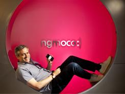 Next frontier:  Neil Young, founder and CEO of Ngmoco, sees the iPhone as a literal game-changer.