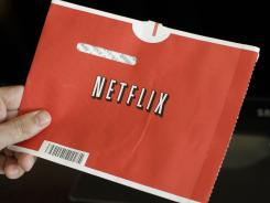 Many consumers have been unwilling to give up the trademark red envelopes from Netflix. DVDs feature newer titles and the latest theatrical releases.