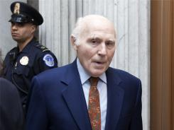 Sen. Herb Kohl, D-Wisc., outside of the Senate chamber on Capitol Hill in Washington on Thursday, May 19, 2011.