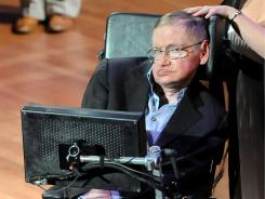 British physicist Stephen Hawking attends the 2010 World Science Festival opening night gala performance at Alice Tully Hall on Wednesday, June 2, 2010 in New York.
