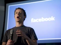 CEO and founder of Facebook Mark Zuckerberg,
