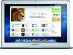 OS X Lion uses 'natural scrolling' that might confuse some users.