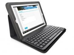 Belkin's Keyboard folio for the iPad 2 costs $100.