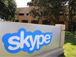 Skype offices in Palo Alto, Calif.