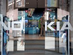 Nokia's flagship store in Helsinki.