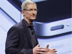 "New Apple CEO Tim Cook once told students in a commencement speech that ""you can't plan for a predictable life."""