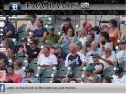 A look at the Tagoramic GigaPan image from the Detroit Tigers game at Comerica Park against the Chicago White Sox on Sept. 3.