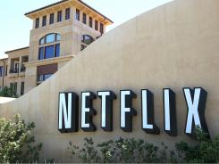 A sign stands in front of the Netflix headquarters in Los Gatos, California.  Netflix announced September 15, 2011 that it expected to lose one million subscribers to its service after announcing a rate hike earlier this year.  Its stock has dropped over 15 percent since the announcement.  (Photo by Justin Sullivan/Getty Images) ORIG FILE ID: 119443751