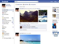 In the latest version of the Facebook interface, any images posted by Facebook users now appear bigger.