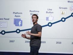 Facebook CEO Mark Zuckerberg talks about the history of Facebook during the company's recent developer's conference in San Francisco.