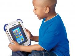 VTech's InnoTab, a learning tablet for kids ages 4-9, lets families download apps, games and ebooks.
