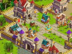 CastleVille, a medieval-themed game, boasts movie-like production quality.