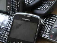 BlackBerry users have been experiencing problems across the world.