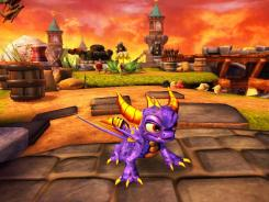 A scene from 'Skylanders: Spyro's Adventure.'