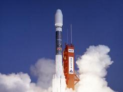 Rosat was launched on 1 June 1990 aboard a Delta II rocket from Cape Canaveral.