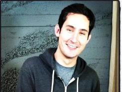 Kevin Systrom is the co-founder and CEO of Instagram.