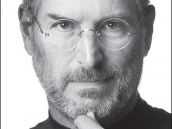 The cover to Walter Isaacson's biography on Steve Jobs.