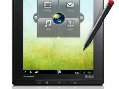 The Lenovo ThinkPad tablet.