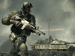 A scene from the new video game 'Call of Duty: Modern Warfare 3' that hits stores Tuesday for PlayStation 3, Xbox 360 and Windows PCs.