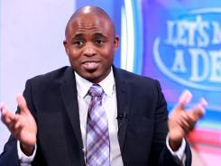 Wayne Brady is a comedian and host of the TV game show Let's Make a Deal.