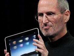 Steve Jobs had long fought against the Flash standard. The Apple iPad does not play Flash content.